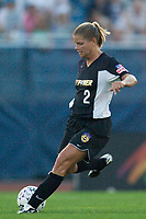 Kristy Whelchel of the Power. The Atlanta Beat and the NY Power played to a 1-1 tie on 7/26/03 at Mitchel Athletic Complex, Uniondale, NY.