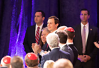 LAS VEGAS, NV - April 6, 2019: Jared Kushner pictured as President Donald J. Trump addresses The Republican Jewish Coalition Annual Leadership Meeting at The Venetian Resort  in Las Vegas, NV on April 6, 2019.     <br /> CAP/MPI/EKP<br /> ©EKP/MPI/Capital Pictures