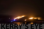 Serious Gorse Fire threatens houses along Caragh Lake<br /> On Sunday evening a series of three fires along the North West shore of Caragh Lake in the Quaybaun area. Several units of the Fire Service were in attendance as the firemen battled to bring the blazes under control.