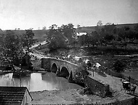 Antietam Bridge, Maryland.  September 1862. Alexander Gardner.  (War Dept.)<br /> Exact Date Shot Unknown<br /> NARA FILE #:  165-SB-19<br /> WAR & CONFLICT BOOK #:  173