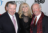 NEW YORK CITY, NY, USA - APRIL 07: David Mixner, Judith Light, Herb Hamsher at the Point Honors New York Gala 2014 held at the New York Public Library on April 7, 2014 in New York City, New York, United States. (Photo by Jeffery Duran/Celebrity Monitor)