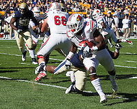 Louisville running back Jeremy Wright (28). The Louisville Cardinals defeated the Pitt Panthers 45-35 at Heinz Field, Pittsburgh PA on October 13, 2012.