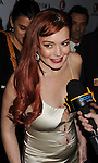 BEVERLY HILLS, CA - NOVEMBER 20: Lindsay Lohan arrives at the 'Liz & Dick' - Los Angeles Premiere at the Beverly Hills Hotel on November 20, 2012 in Beverly Hills, California.
