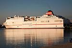 Acciona Trasmediterranea ferry ship Sorolla in the port of Malaga, Spain
