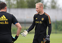 20190903 – TUBIZE , BELGIUM : Belgian Arnoud Bodart pictured during a training session of the U21 youth team of the Belgian national soccer team Red Devils , a training session as a preparation for their first game against Wales in the qualification for the European Championship round in group 9 on the road for Hungary and Slovenia in 2021, Tuesday 3rd of September 2019 at the National training grounds in Tubize , Belgium. PHOTO SPORTPIX.BE | Sevil Oktem