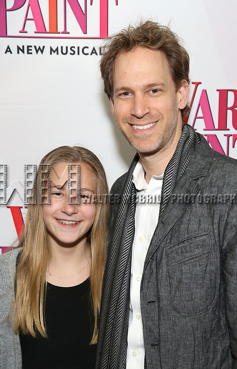 Stella Korins and David Korins attend the Broadway Opening Night Performance of 'War Paint' at the Nederlander Theatre on April 6, 2017 in New York City