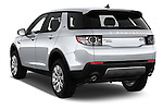Car pictures of rear three quarter view of 2016 Land Rover Discovery Sport HSE Luxury 5 Door Suv Angular Rear