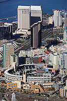 aerial photograph of Petco Park, San Diego, California