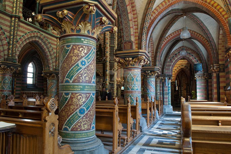 Sittard, interieur van de basiliek