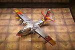 Model of Grumman SA-16A Albatross plane, 1950s, Bentwaters Cold War museum, Suffolk, England, UK