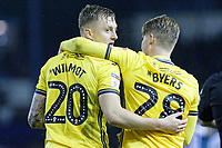 (L-R) Ben Wilmot of Swansea City celebrates his goal with George Byers during the Sky Bet Championship match between Sheffield Wednesday and Swansea City at Hillsborough Stadium, Sheffield, England, UK. Saturday 09 November 2019