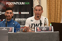 Ryan Walsh speaks during a Press Conference at the Landmark Hotel on 18th May 2017