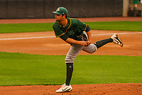 Beloit Snappers pitcher Seth Martinez (20) during a Midwest League game against the Wisconsin Timber Rattlers on August 30, 2017 at Fox Cities Stadium in Appleton, Wisconsin. Wisconsin defeated Beloit 4-0. (Brad Krause/Four Seam Images)