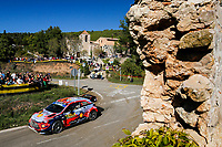 27th October 2019; Salou, Catalonia, Spain; World Rally Championship, Spain Rally;  Neuville