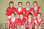 Causeway under 10 basket team. Front l-r Katie Kearney, Aoife O'Connor and Niamh Walsh. Back l-r Rachel Burke, Elizabeth Meehan Eilish Harrington, and Ciarda Supple..