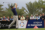 Martin Kaymer tees off on the 14th tee during Day 2 Friday of the Abu Dhabi HSBC Golf Championship, 21st January 2011..(Picture Eoin Clarke/www.golffile.ie)