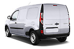 Rear three quarter view of a 2013 - 2014 Renault Kangoo Express Maxi 5 Door Mini Mpv.