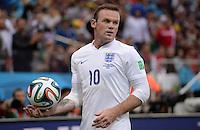 FUSSBALL WM 2014  VORRUNDE    GRUPPE D     Uruguay - England                     19.06.2014 Wayne Rooney (England)