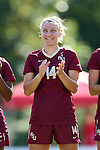 15 October 2016: Florida State's Natalia Kuikka (FIN). The North Carolina State University Wolfpack hosted the Florida State University Seminoles at Dail Soccer Field in Raleigh, North Carolina in a 2016 NCAA Division I Women's Soccer match. FSU won the game 1-0.