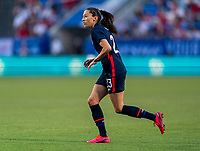 FRISCO, TX - MARCH 11: Christen Press #23 of the United States sprints during a game between Japan and USWNT at Toyota Stadium on March 11, 2020 in Frisco, Texas.