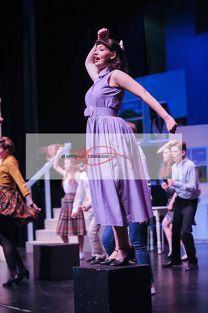 Jenni Hunting of ERHS performs as Helen.
