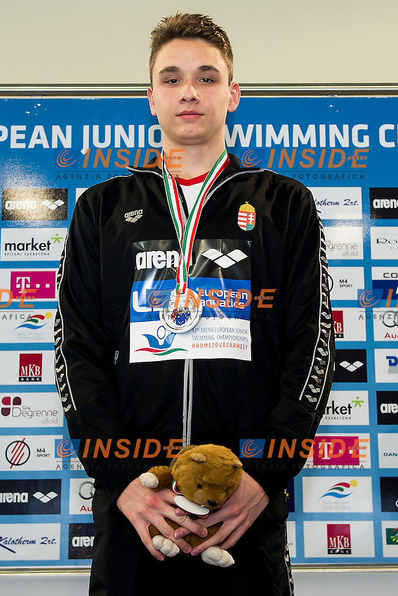 Milak Kristof HUN<br /> 200 Butterfly Men Final Gold Medal<br /> LEN 43rd Arena European Junior Swimming Championships<br /> Hodmezovasarhely, Hungary <br /> Day03 08-07-2016<br /> Photo Andrea Masini/Deepbluemedia/Insidefoto