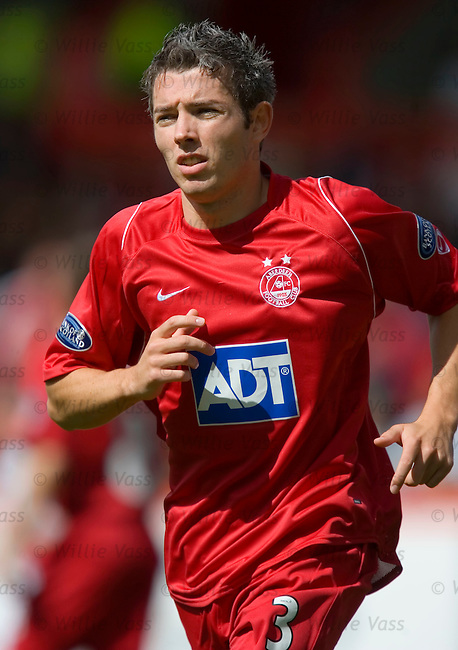 Kevin McNaughton, Aberdeen.stock season 2005-2006.pic willie vass