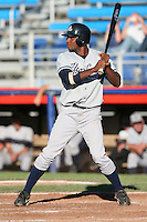 Staten Island Yankees Wilkins DeLaRossa during a NY-Penn League game at Russell Diethrick Park on August 13, 2006 in Jamestown, New York.  (Mike Janes/Four Seam Images)