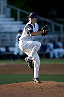Everett AquaSox pitcher Jordan Shipers #2 against the Boise Hawks at Everett Memorial Stadium in Everett, Washington on July 30, 2011.  (Ronnie Allen/Four Seam Images)