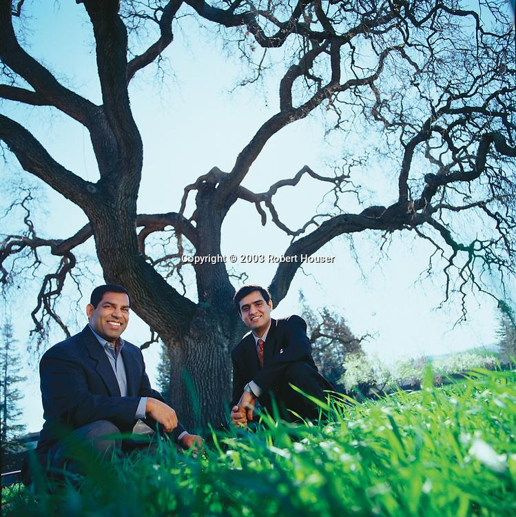 Keerti Melkote and Pankaj Manglik - founders Aruba Networks