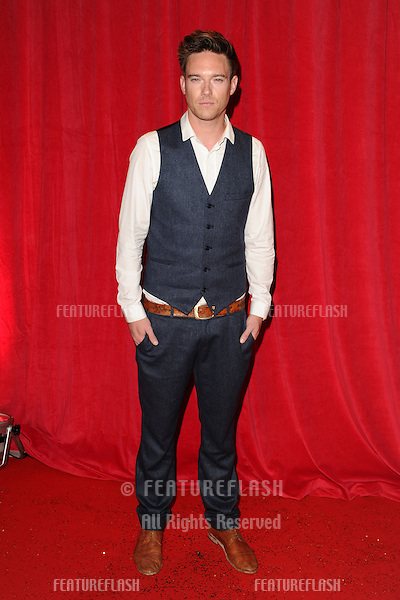 Andrew Moss arriving for the 2014 British Soap Awards, at the Hackney Empire, London. 24/05/2014 Picture by: Steve Vas / Featureflash