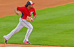 5 March 2015: Washington Nationals third baseman Anthony Rendon in action during a Spring Training game against the New York Mets at Space Coast Stadium in Viera, Florida. The Nationals rallied to defeat the Mets 5-4 in their Grapefruit League home opening game. Mandatory Credit: Ed Wolfstein Photo *** RAW (NEF) Image File Available ***