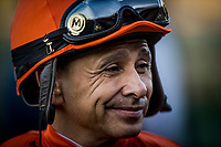 ARCADIA, CA - DECEMBER 26: Mike Smith after the La Brea Stakes at Santa Anita Park on December 26, 2017 in Arcadia, California. (Photo by Alex Evers/Eclipse Sportswire/Getty Images)