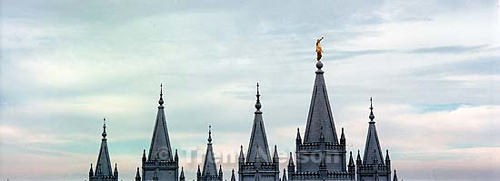 LDS Temple. Downtown panoramics.<br />