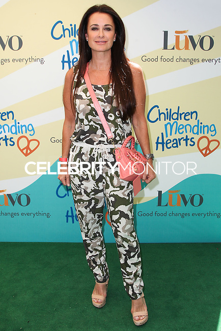 """BEVERLY HILLS, CA, USA - JUNE 14: Kyle Richards at the Children Mending Hearts' 6th Annual Fundraiser """"Empathy Rocks: A Spring Into Summer Bash"""" on June 14, 2014 in Beverly Hills, California, United States. (Photo by Celebrity Monitor)"""