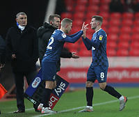 Blackburn Rovers Joe Rothwell  is replaced by Blackburn Rovers Lewis Holtby<br /> <br /> Photographer Mick Walker/CameraSport<br /> <br /> The EFL Sky Bet Championship - Stoke City v Blackburn Rovers - Saturday 30th November 2019 - bet365 Stadium - Stoke-on-Trent<br /> <br /> World Copyright © 2019 CameraSport. All rights reserved. 43 Linden Ave. Countesthorpe. Leicester. England. LE8 5PG - Tel: +44 (0) 116 277 4147 - admin@camerasport.com - www.camerasport.com