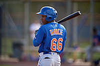 New York Mets Anthony Dirocie (66) during a Minor League Spring Training intrasquad game on March 29, 2018 at the First Data Field Complex in St. Lucie, Florida.  (Mike Janes/Four Seam Images)