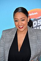 LOS ANGELES, CA. March 23, 2019: Tia Mowry at Nickelodeon's Kids' Choice Awards 2019 at USC's Galen Center.<br /> Picture: Paul Smith/Featureflash