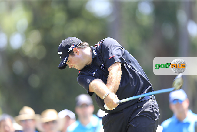 Patrick Reed (USA) during round 2 of the Players, TPC Sawgrass, Championship Way, Ponte Vedra Beach, FL 32082, USA. 13/05/2016.<br /> Picture: Golffile | Fran Caffrey<br /> <br /> <br /> All photo usage must carry mandatory copyright credit (&copy; Golffile | Fran Caffrey)