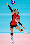 25.08.2018, …VB Arena, Bremen<br />Volleyball, LŠ&auml;nderspiel / Laenderspiel, Deutschland vs. Niederlande<br /><br />Angriff Jana Franziska Poll (#5 GER)<br /><br />  Foto &copy; nordphoto / Kurth