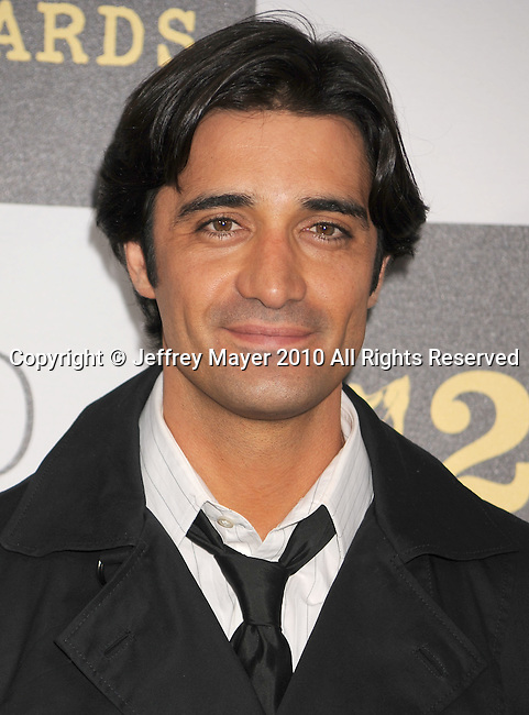 LOS ANGELES, CA. - March 05: Actor Gilles Marini  arrives at the 25th Film Independent Spirit Awards held at Nokia Theatre L.A. Live on March 5, 2010 in Los Angeles, California.