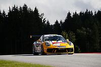 12th July 2020; Spielberg, Austria;  Porsche Mobil 1 Supercup race day;  30 Lucas Groenveld NL, GP Elite held at Spielberg Austria