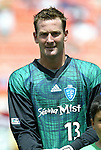 31 August 2004: Henry Ring. The MLS Eastern Conference All Stars defeated the MLS Western Conference All Stars 3-2 at RFK Stadium in Washington, DC in the Major League Soccer Sierra Mist All-Star Game..