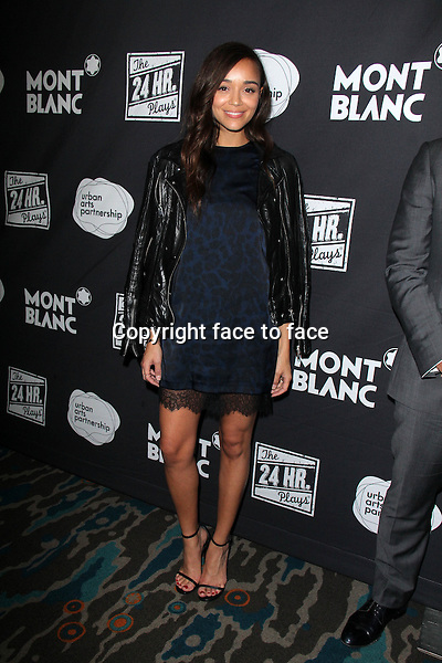 SANTA MONICA, CA - June 20: Ashley Madekwe at The 24 Hour Plays Los Angeles After-Party, Shore Hotel, Santa Monica, June 20, 2014. Credit: Janice Ogata/MediaPunch<br />