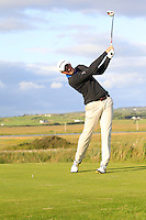 Stephen McCarthy (Black Bush) on the 13th tee during Round 2 of The South of Ireland in Lahinch Golf Club on Sunday 27th July 2014.<br /> Picture:  Thos Caffrey / www.golffile.ie