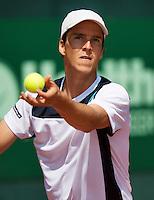 09-07-13, Netherlands, Scheveningen,  Mets, Tennis, Sport1 Open, day two, Martin Fischer (AUT)<br /> <br /> <br /> Photo: Henk Koster