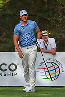 Brooks Koepka (USA) watches his tee shot on 16 during round 2 of the World Golf Championships, Mexico, Club De Golf Chapultepec, Mexico City, Mexico. 2/22/2019.<br /> Picture: Golffile | Ken Murray<br /> <br /> <br /> All photo usage must carry mandatory copyright credit (© Golffile | Ken Murray)