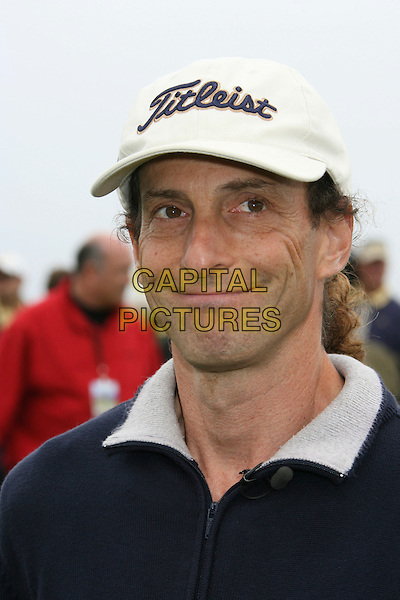 KENNY G.9th Annual Michael Douglas & Friends Celebrity Golf Event.held at the Trump National Golf Club, Rancho Palos Verdes, California, USA. .April 29th, 2007.sport headshot portrait white baseball cap hat .CAP/ADM/RE.©Russ Elliot/AdMedia/Capital Pictures