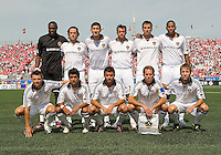 06 June 2009: The LA Galaxy starting eleven in  MLS action at BMO Field Toronto, in a game between LA Galaxy and Toronto FC. .The Galaxy  won 2-1.
