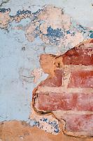 Rustic walls at Merritt's Store and Grill in Chapel Hill, NC.